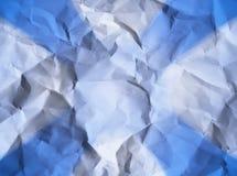 skrynklig paper textur Fotografering för Bildbyråer