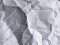 skrynklig paper textur Arkivbilder