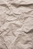 skrynklig paper textur Royaltyfri Fotografi