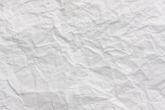 skrynklig paper textur Arkivfoto