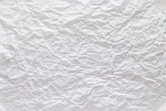 skrynklig paper texturwhite Arkivbild