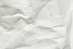 Skrynklig pappers- textur Arkivbilder