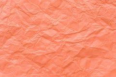 Skrynklig pappers- texturbakgrund Fotografering för Bildbyråer