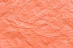 Skrynklig pappers- texturbakgrund Royaltyfri Fotografi