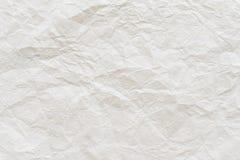 Skrynklig pappers- texturbakgrund Royaltyfri Bild