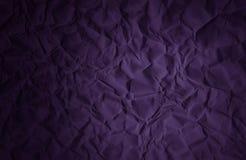 Skrynklig violett purpurfärgad bakgrund för pappers- texturabstrakt begrepp Arkivfoton