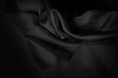 Skrynkliga eller krabba veck för abstrakt bakgrund av tygtextur Royaltyfri Bild