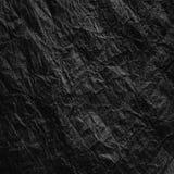 skrynkligt kraft papper Textur skrynklade ?teranv?nt brunt papper arkivfoton
