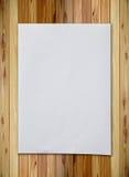 skrynkligt paper väggträ Arkivbild