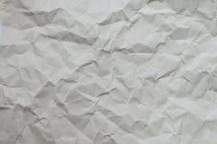 skrynkligt papper Arkivfoto
