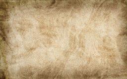 Skrynkligt papper för textur beiga papp Royaltyfri Bild