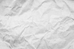 Skrynkligt papper och textur Royaltyfria Bilder