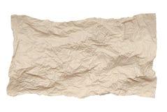 Skrynkligt pappers- royaltyfria foton