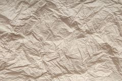 Skrynkligt pappers- royaltyfri fotografi