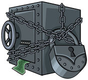 Skrytka z pieniądze Obrazy Stock