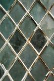skrzyżowane okno ołowiu obraz stock