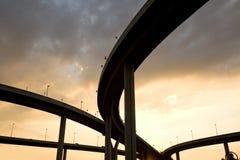 skrzyżowanie autostrady ampuły Zdjęcia Royalty Free