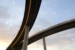 skrzyżowanie autostrady ampuły Obraz Royalty Free