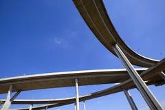 skrzyżowanie autostrady ampuły Zdjęcie Royalty Free