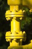skrzyżowanie rury przemysłowej Obraz Royalty Free