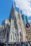 Skrzyżowanie St Patricks katedry fotografia royalty free