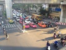 Skrzyżowanie, Bangkok, Tajlandia zdjęcie royalty free