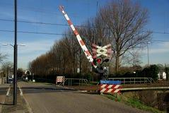 skrzyżowanie kolei Zdjęcie Stock