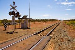 skrzyżowanie kolei Obrazy Stock