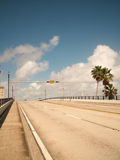 skrzyżowanie na most pusty Fotografia Royalty Free