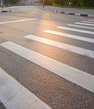 skrzyżowanie pieszy Zdjęcie Stock