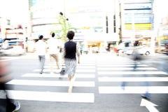 skrzyżowanie ulicy Zdjęcie Stock