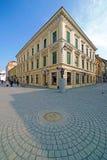 Skrzyżowanie ulicy w historycznym centrum Timisoara Obrazy Royalty Free