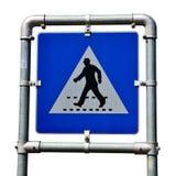 skrzyżowanie zwyczajnego drogowego znaka Obraz Royalty Free