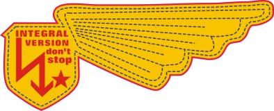 skrzydła kolor żółty Obraz Royalty Free