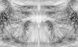 Skrzydła tła wzór Obrazy Royalty Free