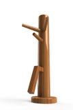 Skrzydłowego chun drewniana atrapa royalty ilustracja