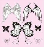 skrzydła ilustracja wektor