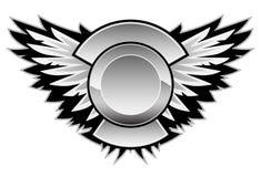 Skrzydłowego loga Wektorowa grafika ilustracji