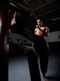 Skrzydłowy Chun Kung Fu Zdjęcie Royalty Free