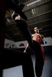 Skrzydłowy Chun Kung Fu Obraz Royalty Free