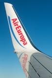 Skrzydłowy samolot, Fotografia Stock
