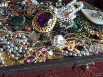 skrzynia skarbów Fotografia Royalty Free
