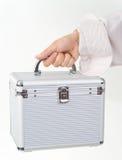 skrzynka żeński ręki klingeryt Fotografia Stock