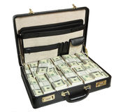 skrzynka dolar folował Zdjęcia Stock