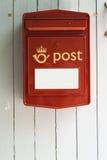 Skrzynka pocztowa Fotografia Stock
