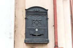 Skrzynka pocztowa na ścianie Zdjęcia Stock