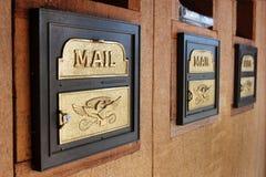 skrzynka pocztowa s u Obrazy Stock