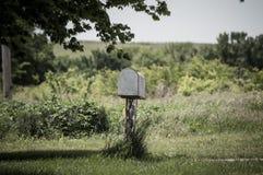 skrzynka pocztowa wiejskiej zdjęcia royalty free