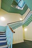 skrzynka rocznik retro schodowy Obraz Royalty Free
