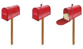 Skrzynki pocztowa Zdjęcia Stock